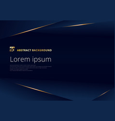 abstract template dark blue luxury premium vector image