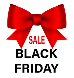 big sale black friday text for advertising and vector image