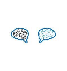 brain symbol vector image