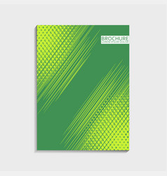 covers design for brochure with abstract dinamic vector image