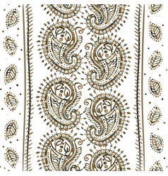 indian seamless pattern wallpaper with vector image