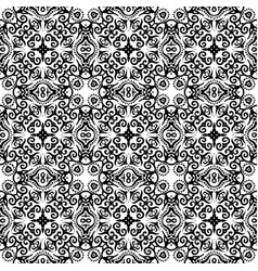 Intricate lace pattern background vector