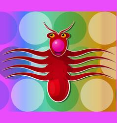 Octopus creature vector