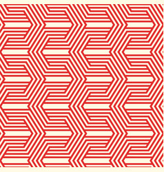 Red minimalistic seamless pattern vector