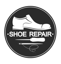 Repair shoes design vector
