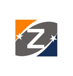 Success solution letter z vector