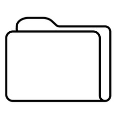 document documents file folder icon vector image vector image