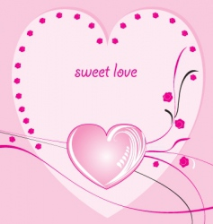 valentines bgr 1 vector image vector image