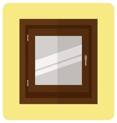 Windowflat icon closed window vector image