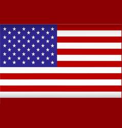 america flag image flag usa color vector image
