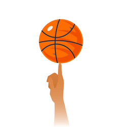 basketball skills closeup vector image