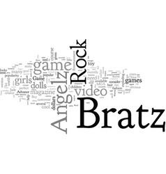 Bratz rock angelz the video game vector