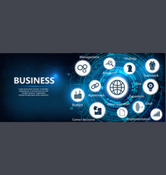 Business components vector