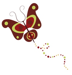 Butterfly 5 vector