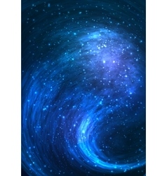 Colorful space background with Nebula stellar vector