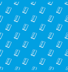 dead pixel smartphone pattern seamless blue vector image