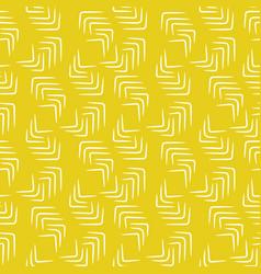 Decorative thin strokes seamless yellow vector