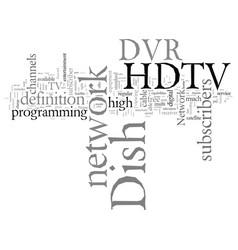 Dish network hdtv dvr vector