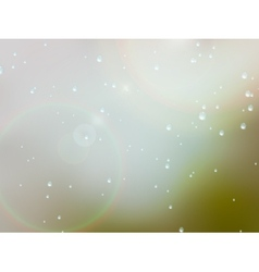 Drops of rain on the window EPS10 vector image