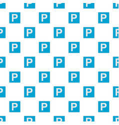 parking place pattern seamless vector image