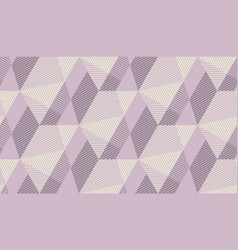 seamless pattern in scandinavian dust rosy colors vector image