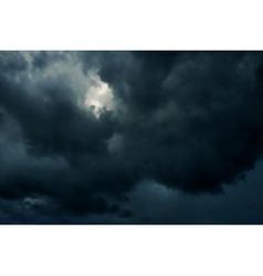Dark skies vector image