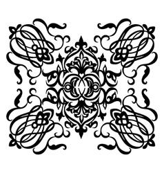 Ornamental motif vector image