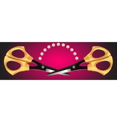Scissors - 4 vector image vector image