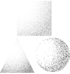 abstract black and white passing dotted shadow vector image vector image