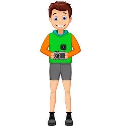 Funny photographers cartoon vector