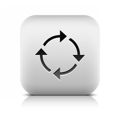 Arrow reset loop refresh reload rotation icon vector
