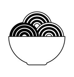 authenthic italian pasta vector image