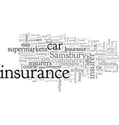 Bread milk car insurance vector