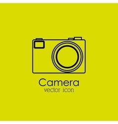 Camera isolated icon design vector