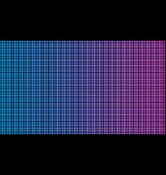 Creative led screen macro vector
