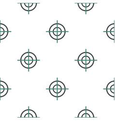 Crosshair pattern flat vector
