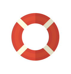 Life ring icon on isolated background vector