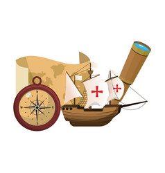 Ship transport with navigate things discovery vector