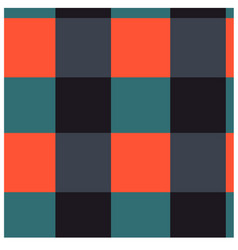 simple color squares seamless pattern vector image