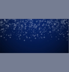 Soap bubbles abstract background blowing bubbles vector