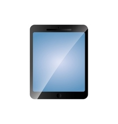 Tablet gadget device technology icon vector