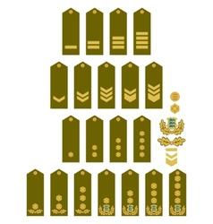 Armed forces insignia estonia vector