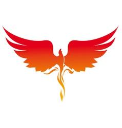 phoenix logo vector image vector image