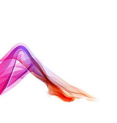 woman abstract legs vector image