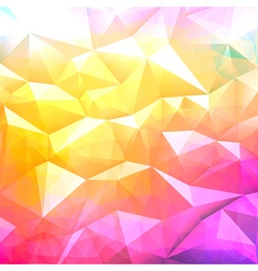 Background low poly vector