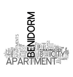 Benner house text background word cloud concept vector