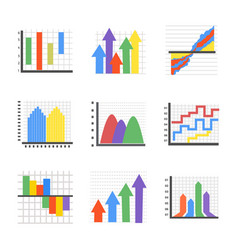 Creative infographics flat icons vector