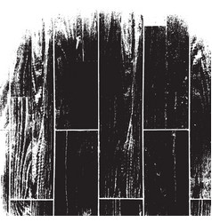 Distressed wooden texture vector