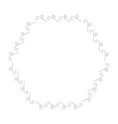 elegant victorian with hexagonal shape frame vector image