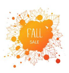 Fall sale vector